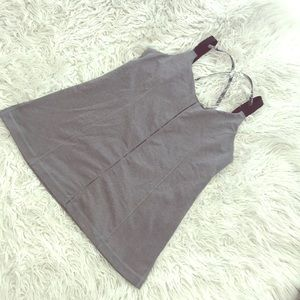 COPY - Lululemon Hot Class Tank 10 Grey